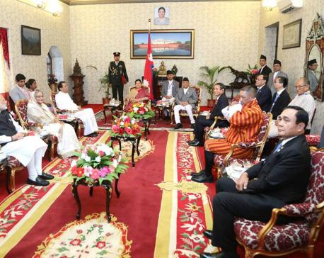 BIMSTEC's dignitaries at Sheetal Niwas