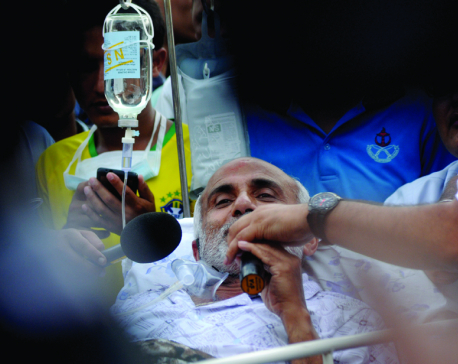 Dr KC to be discharged from hospital in a couple of days
