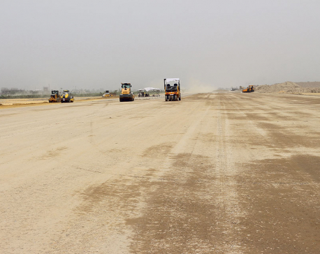 Work on Gautam Buddha International Airport sluggish