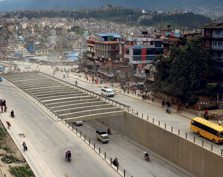 Drivers, commuters, police delighted by the opening of underpass at Kalanki