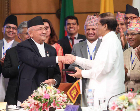 "PM Oli stresses on ""decisive steps"" on implementation of BIMSTEC agreements"
