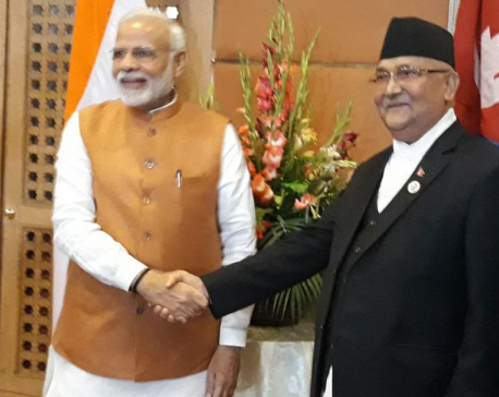 PM Oli, Modi witness MOU signing on Raxaul-Kathmandu railway line