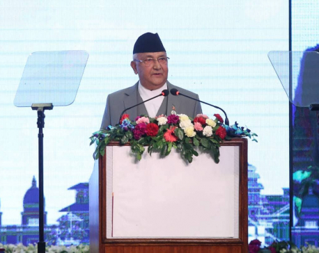 No one will be left behind if economic dev accelerated: PM Oli