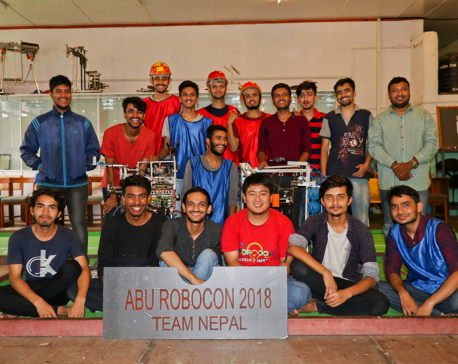 Nepali engineering students to participate in ABU Robocon