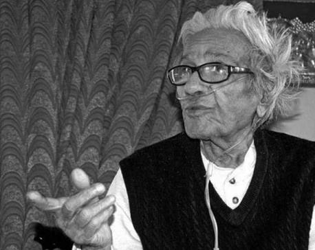 Radio Nepal Singer and drama actor, Hari Prasad Rimal dies at 93