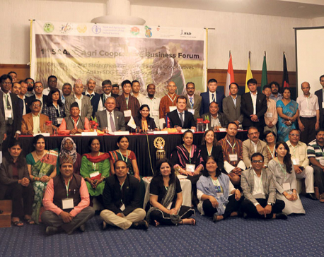 SAARC Agriculture Cooperative Business Forum kicks off