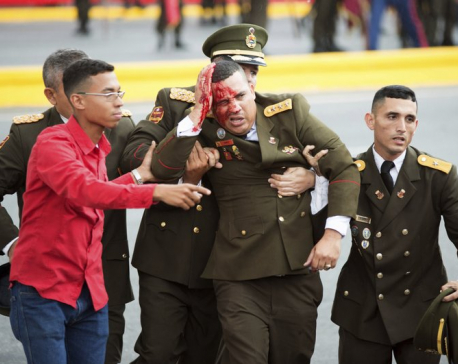 Venezuela detains 6 in failed drone attack aimed at Maduro