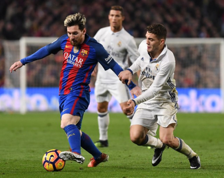 La Liga plans to stage a match involving either Barcelona or Real Madrid in United States