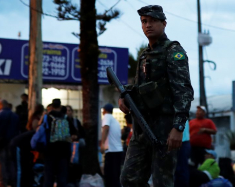 Brazil sends army to border as Venezuelans flee crisis at home