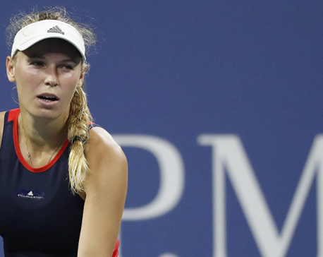 No. 2 seed Caroline Wozniacki crashes out of US Open second round