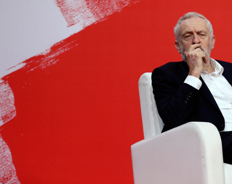 Corbyn is being destroyed, like blowing up a bridge to stop an advancing army