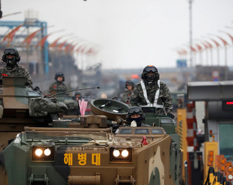 Trump says 'no reason' for costly war games with South Korea, blames China for stalemate with North