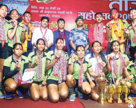 APF beats Shivam New Diamond to win Women's National Volleyball