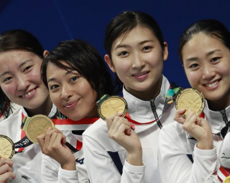 Japanese teenager Ikee wins 5th gold medal at Asian Games