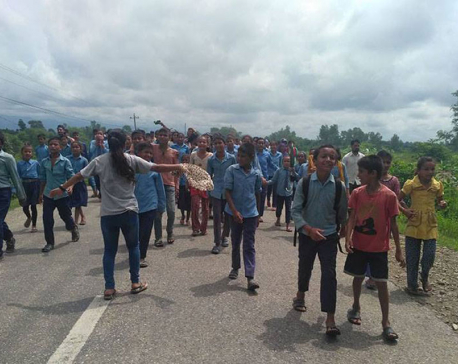 Govt pulls back Kanchanpur CDO in view of  ongoing protest