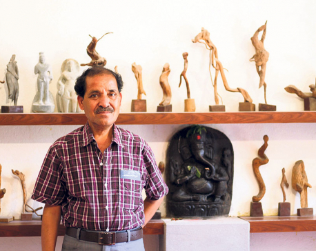 Reflecting the inner mind with sculptures