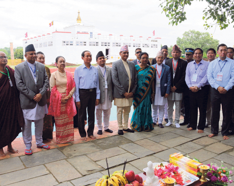 VVIP visits to Lumbini bring Buddha's birthplace to limelight