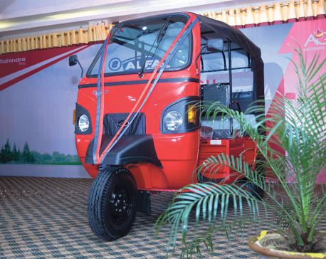 Mahindra launches electric rickshaw