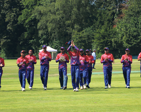 Nepal suffers 55-run defeat in first-ever ODI match