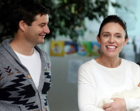 New Zealand PM back from maternity leave