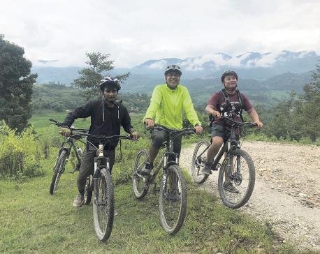 Through the off roads of Kathmandu