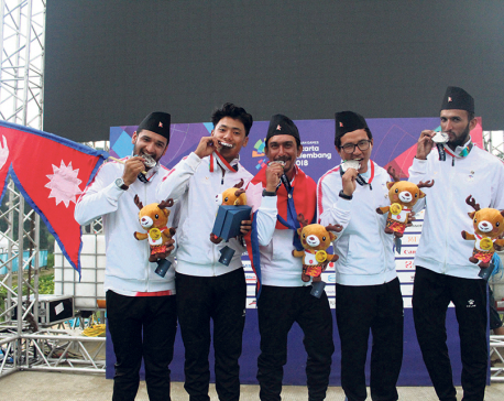 Nepali paragliders incurred heavy loans to win Asiad silver