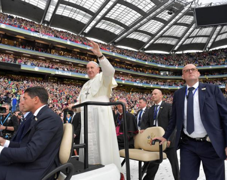 Pope compares Church sexual abuse, corruption to excrement, victims say