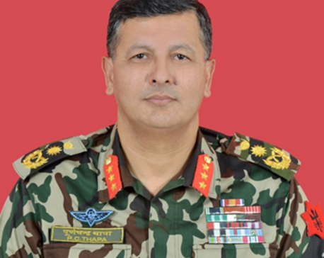 Govt recommends Thapa as Chief of Army Staff