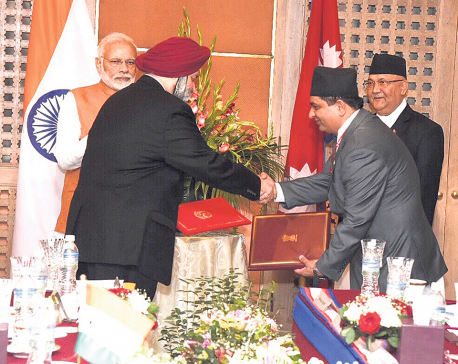 MoU signed for technical study of Raxaul-KTM railway