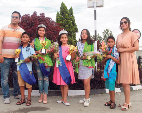 Nepali participants bag various titles in India