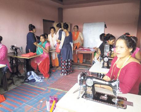 Skill development training proves effective for women in Gurvakot