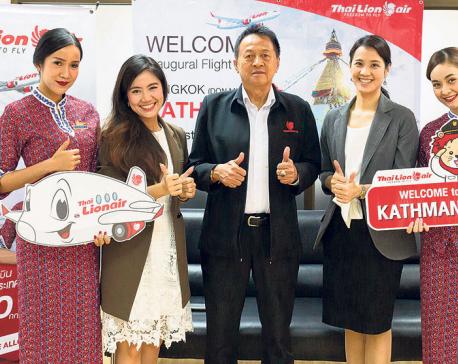 Thai Lion begins Kathmandu flights