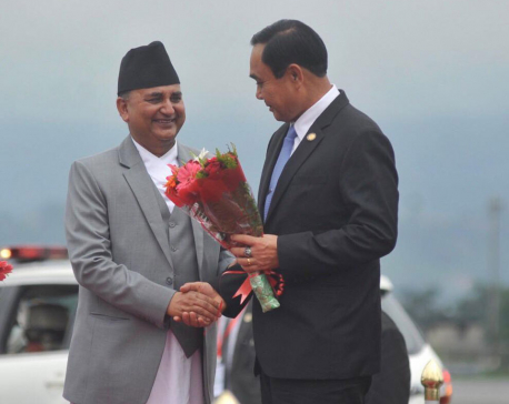 Thai PM Chan-o-cha arrives in Kathmandu for BIMSTEC (with photos)