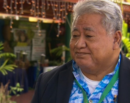 Climate change sceptics 'utterly stupid', Samoa's Prime Minister says
