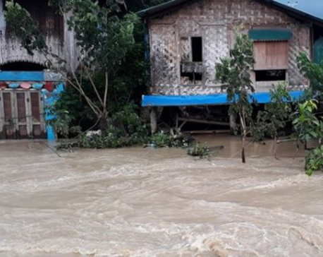 Myanmar dam breach floods 85 villages, thousands driven from homes