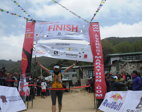 Bhim, Purnima win Everest Marathon 2018