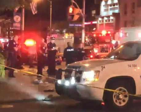 Gunman injures nine in Canadian city before shooting himself dead