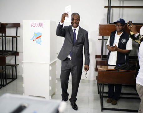 Congo votes in long-delayed presidential election