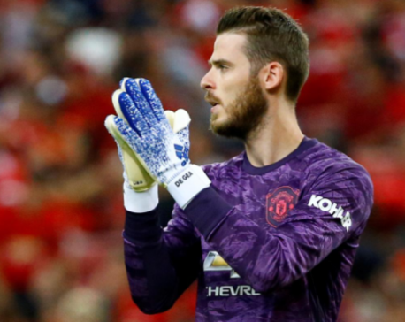 De Gea keen to captain Man United as keeper nears new deal