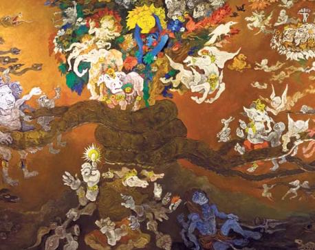 Exhibition of Nepali art at Welt Museum, Vienna
