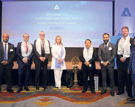 ANDRITZ organizes customer day in Nepal
