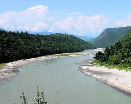 Govt projects extract river resources illegally