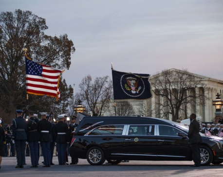 Bush's state funeral follows generations of tradition