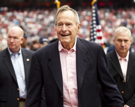 Former US President George H.W. Bush dies