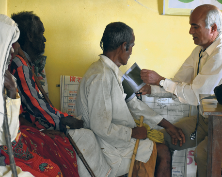 Dr KC in poor tarai villages to conduct free health camp, distribute blankets