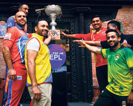 An opportunity for young Nepali players to learn from the bests