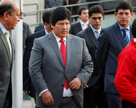 Peru soccer chief arrested in influence-peddling probe