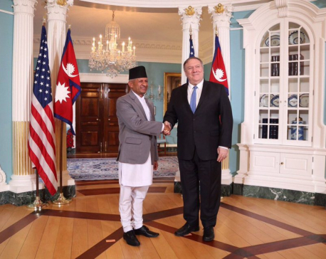 Pompeo, Gyawali discuss Nepal's central role in Indo-Pacific strategy