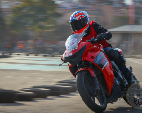 In photos: Nepal's first motorcycle championship organized