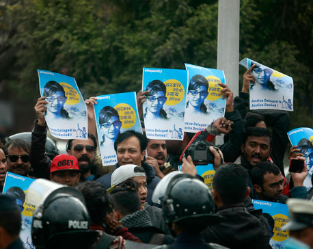 Hundreds rally for justice in Nirmala case